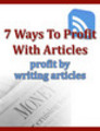 Thumbnail How To Make Profit By Writing Articles
