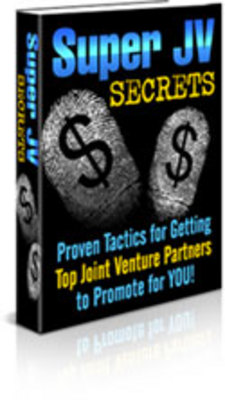 Product picture Super Secrets For Joint Ventures