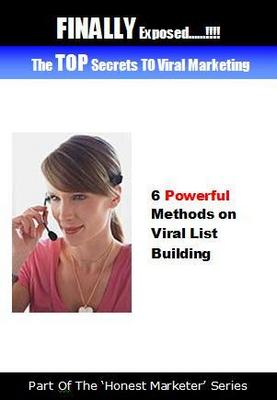 Product picture The TOP Secrets TO Viral Marketing